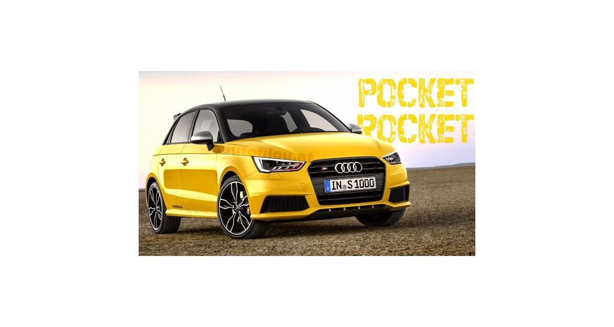 Audi S1 : la première image