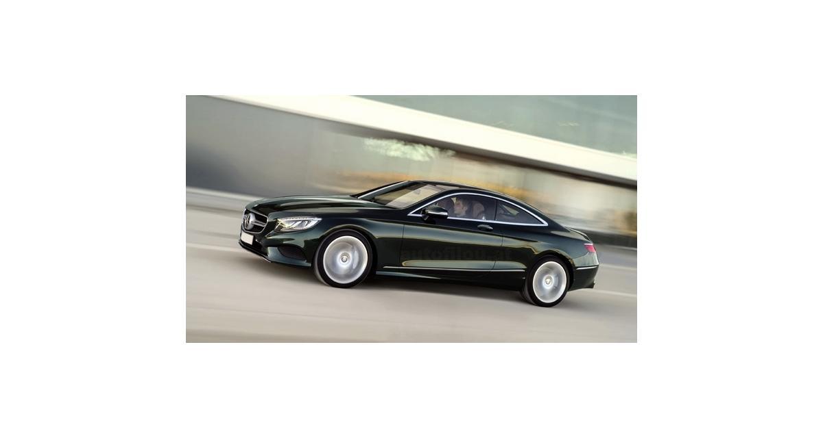 Mercedes Classe S Coupé : première image officielle