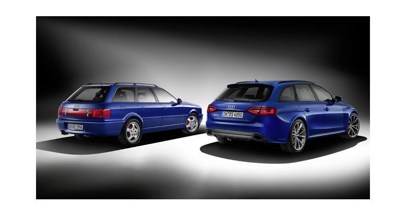 Audi RS4 : une série spéciale en hommage à la RS2