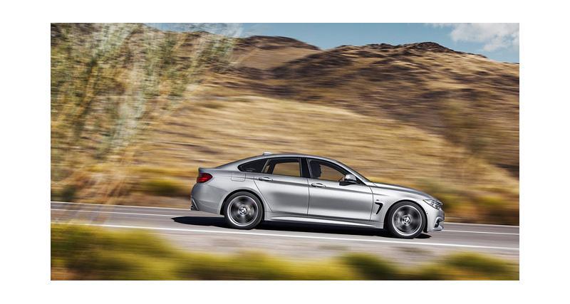 BMW Série 4 Gran Coupé : plus, c'est mieux