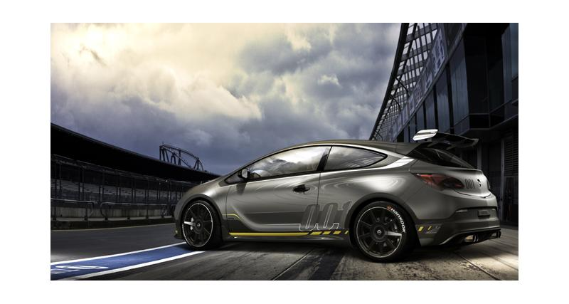 Genève 2014 : Opel Astra OPC Extreme