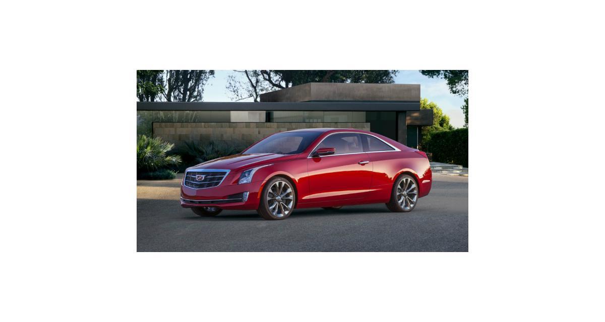 Detroit 2014 : Cadillac ATS Coupé