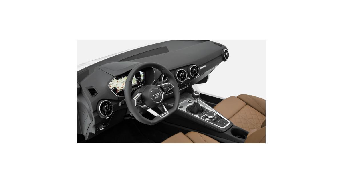 Audi TT : l'intérieur du nouveau coupé dévoilé à Las Vegas