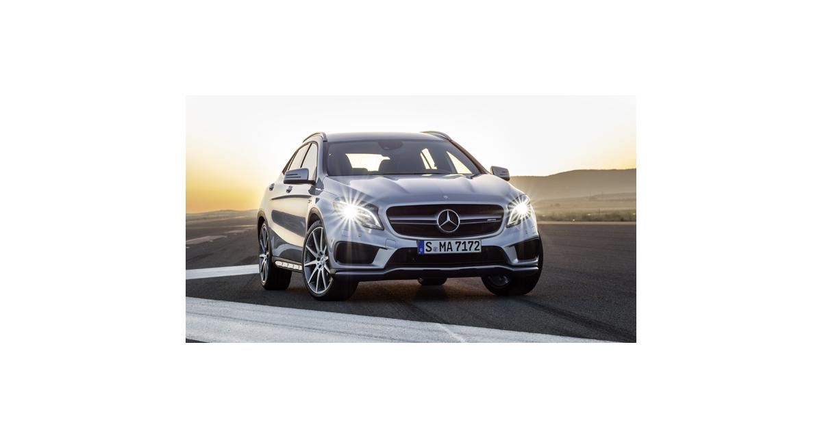 Detroit 2014 : Mercedes GLA 45 AMG
