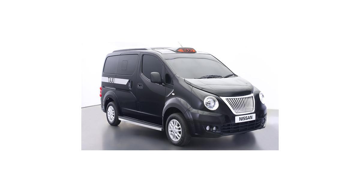 Londres : le Nissan e-NV200, nouveau black cab