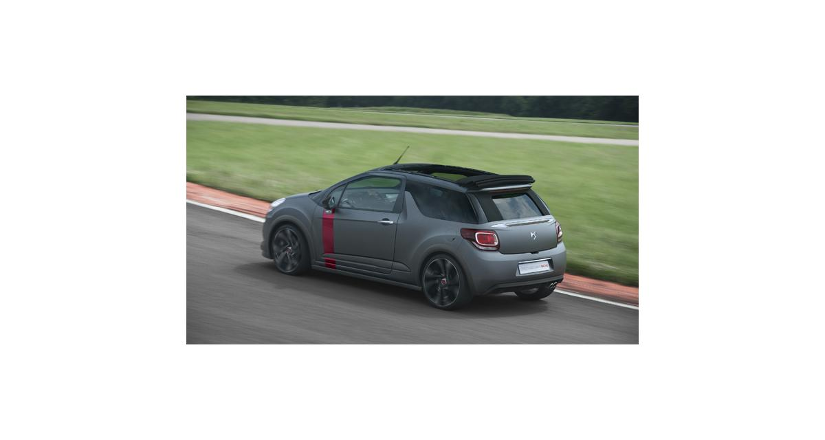 Citroën DS3 Cabrio Racing : 207 chevaux au vent