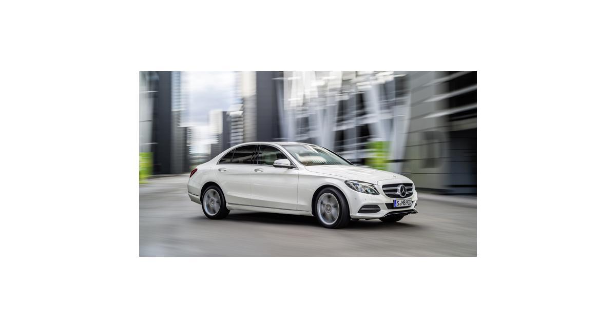 Nouvelle Mercedes Classe C (W205) : une Classe S en réduction