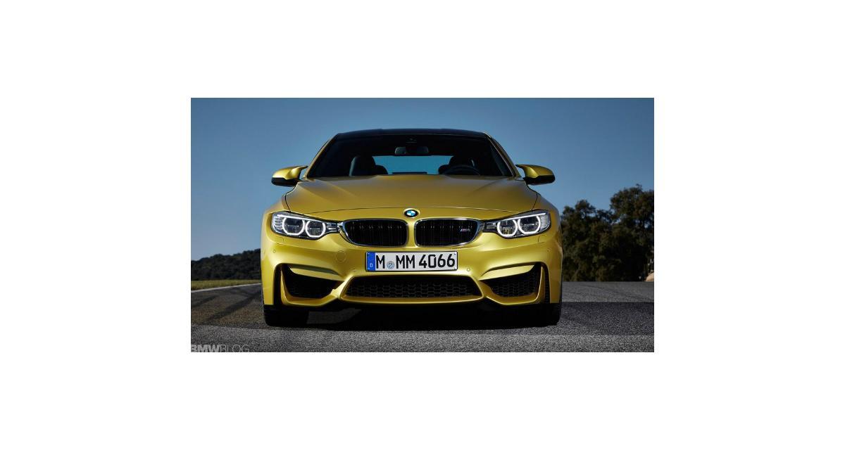 BMW M3 et M4 : les premières photos en avance