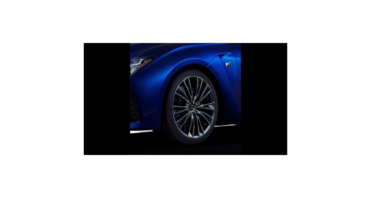 Lexus RC F : la M4 nippone sera à Detroit