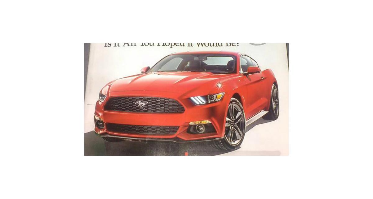 Ford Mustang : les premières photos en fuite