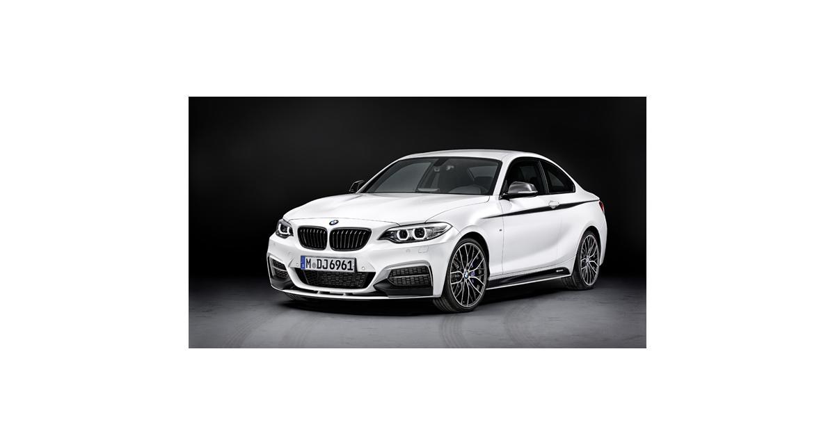 BMW Série 2 : la ligne M Performance dévoilée