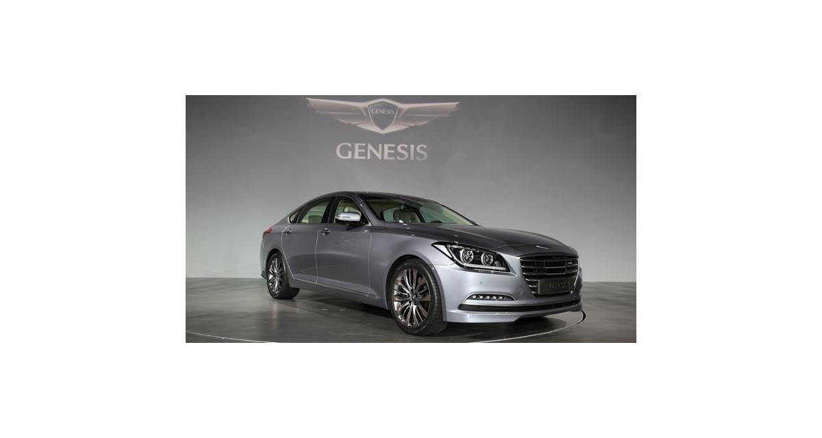 Nouvelle Hyundai Genesis : le luxe coréen
