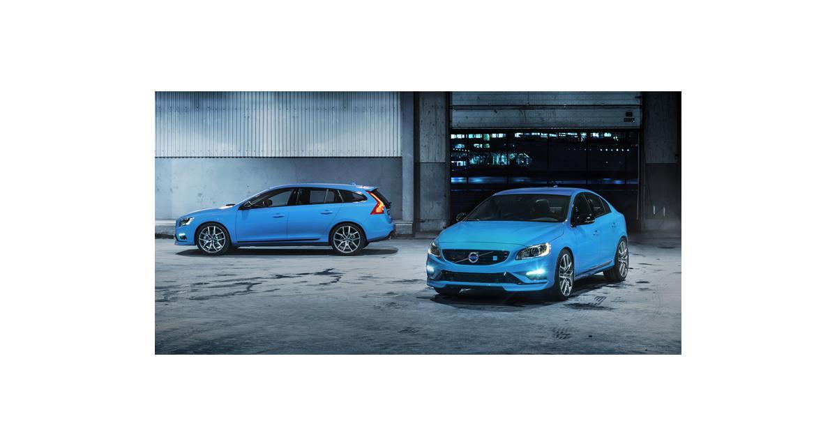Volvo S60 et V60 : de nouvelles versions Polestar