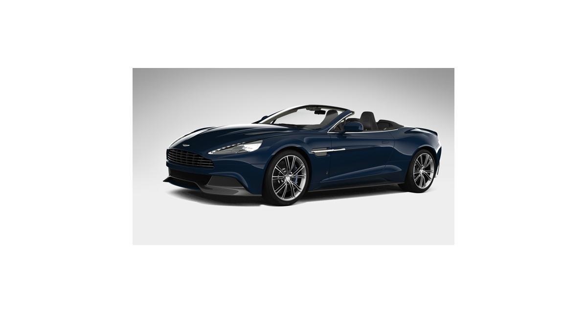 Aston Martin Vanquish Volante Neiman Marcus Edition : un cabriolet sous le sapin