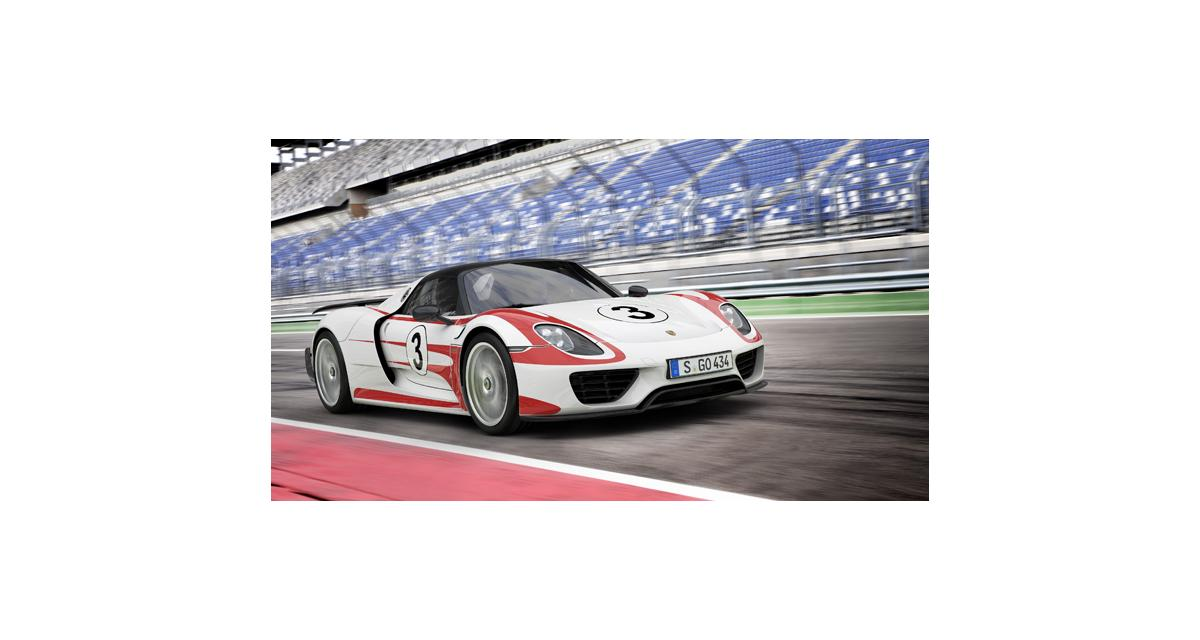 Porsche 918 Spyder : les performances officielles