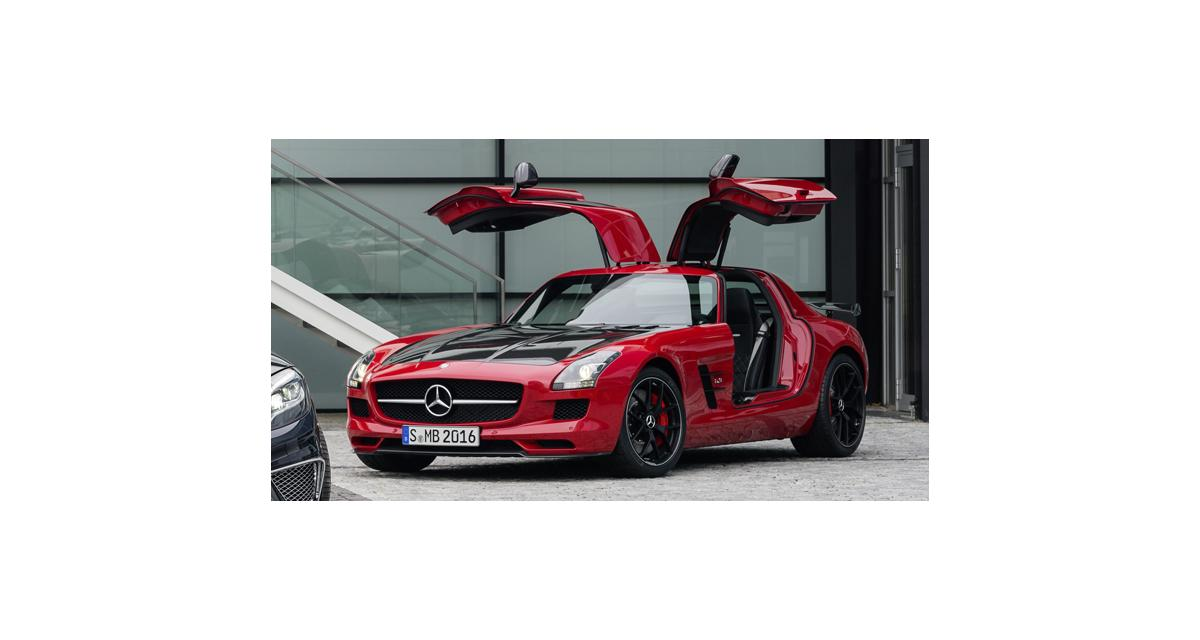 Mercedes SLS AMG GT Final Edition : ultime série spéciale
