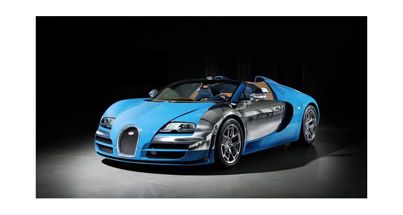 Dubaï 2013 : Bugatti Veyron Legend Meo Costantini