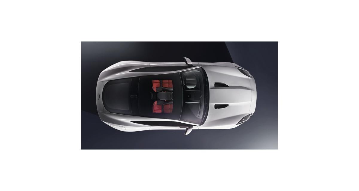 Jaguar F-Type Coupé : première image