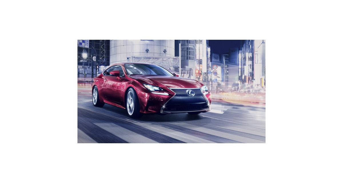 Lexus RC : une IS Coupé au salon de Tokyo