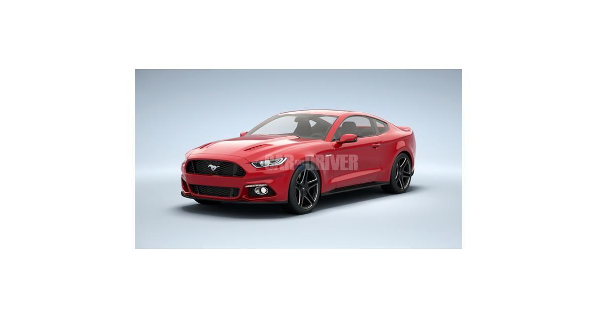 Ford Mustang : les images presque définitives du nouveau modèle