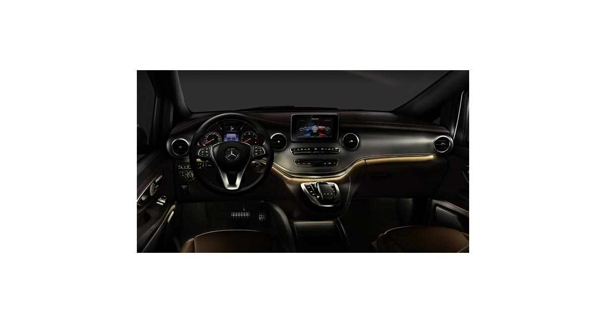 Mercedes Classe V : le remplaçant du Viano montre son habitacle
