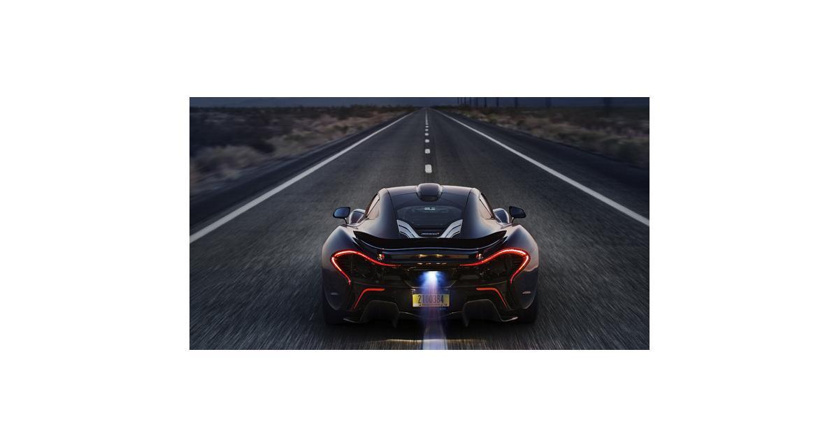 McLaren P1 : les performances annoncées