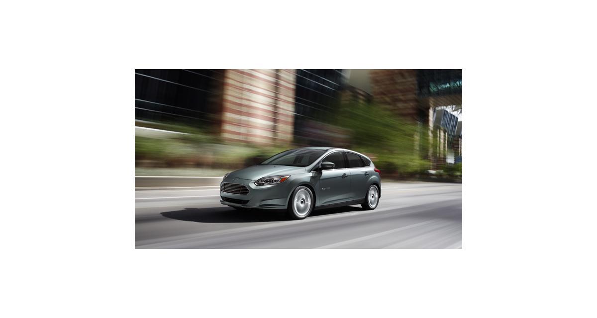 Ford Focus Electric : disponible en France à partir de 32 990 euros