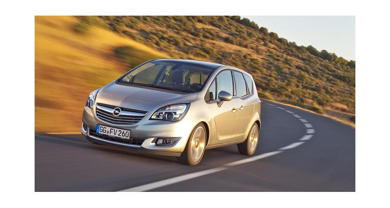 Opel Meriva restylé : nouveau coeur