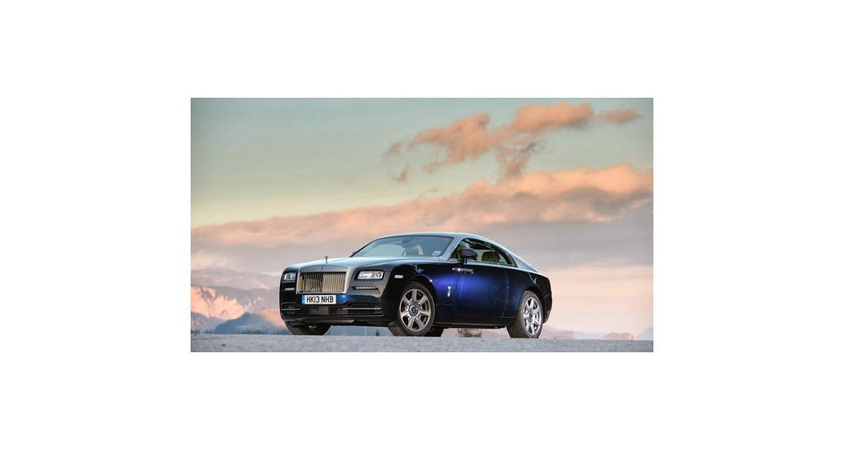 Rolls-Royce Wraith : Nouvelles photos et vidéos