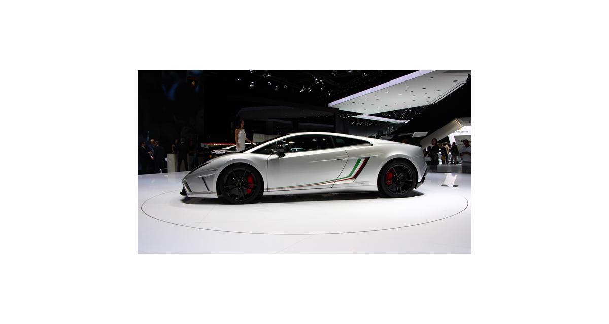 Francfort 2013 : Lamborghini Gallardo Squadra Corse