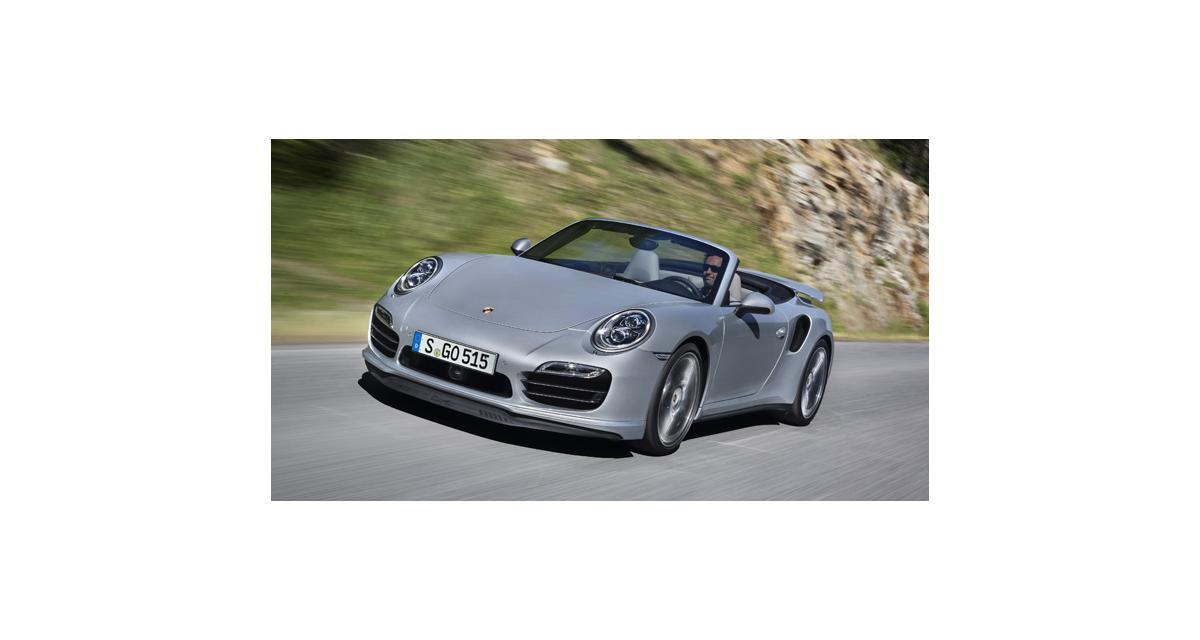 Porsche 911 Turbo Cabriolet : toutes les photos et infos