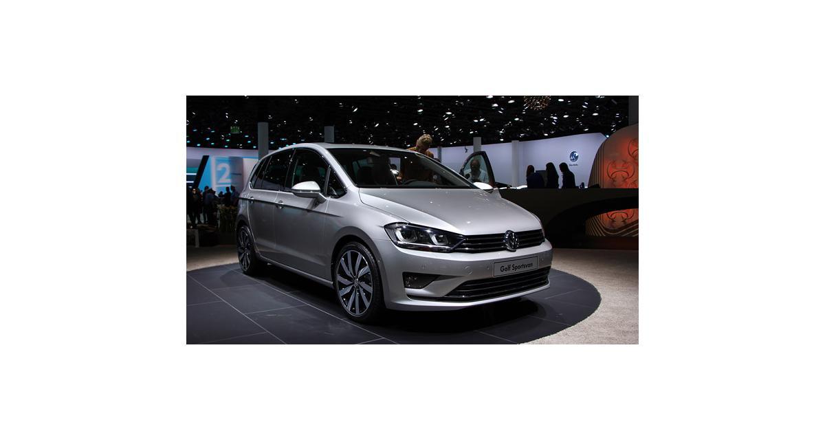 Francfort 2013 : Volkswagen Golf Sportsvan