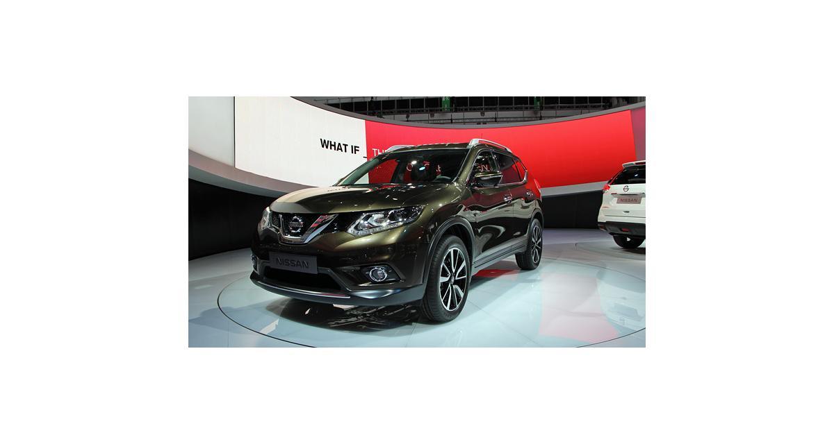Francfort en direct : Nissan X-Trail 2014
