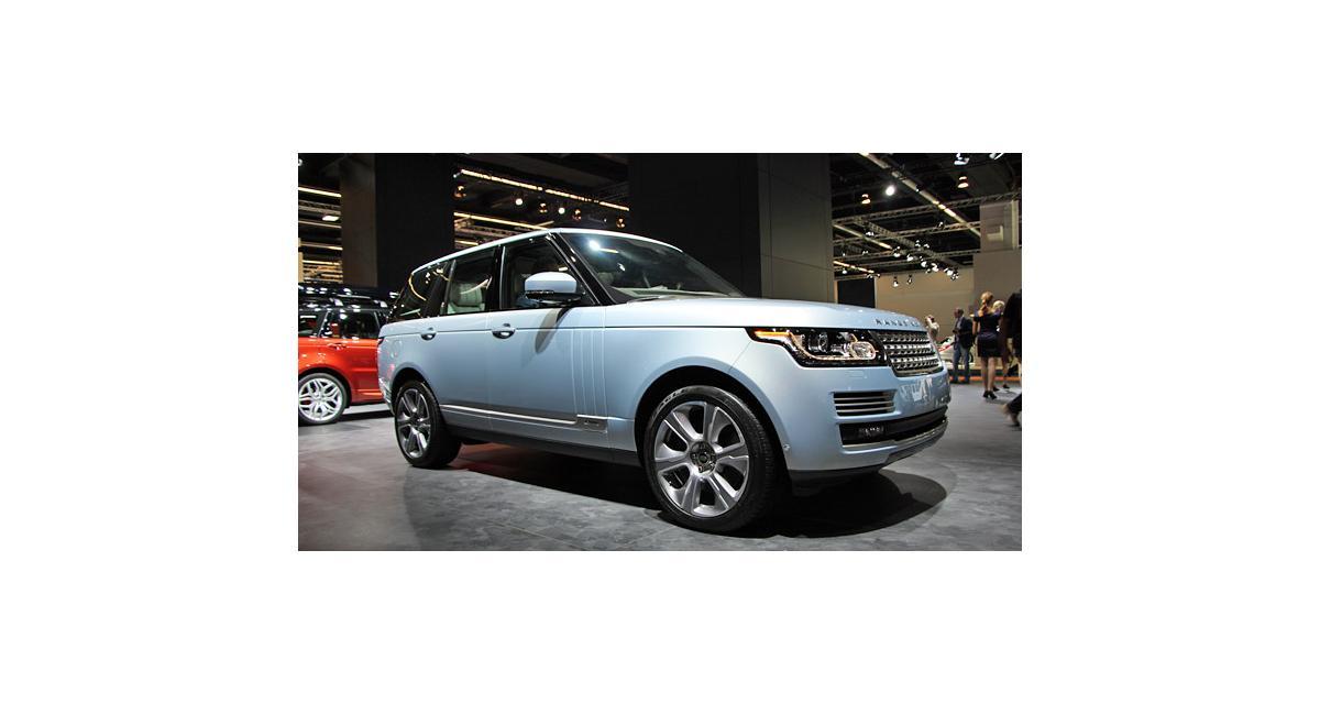 Francfort en direct : Range Rover et Range Rover Sport Hybrid