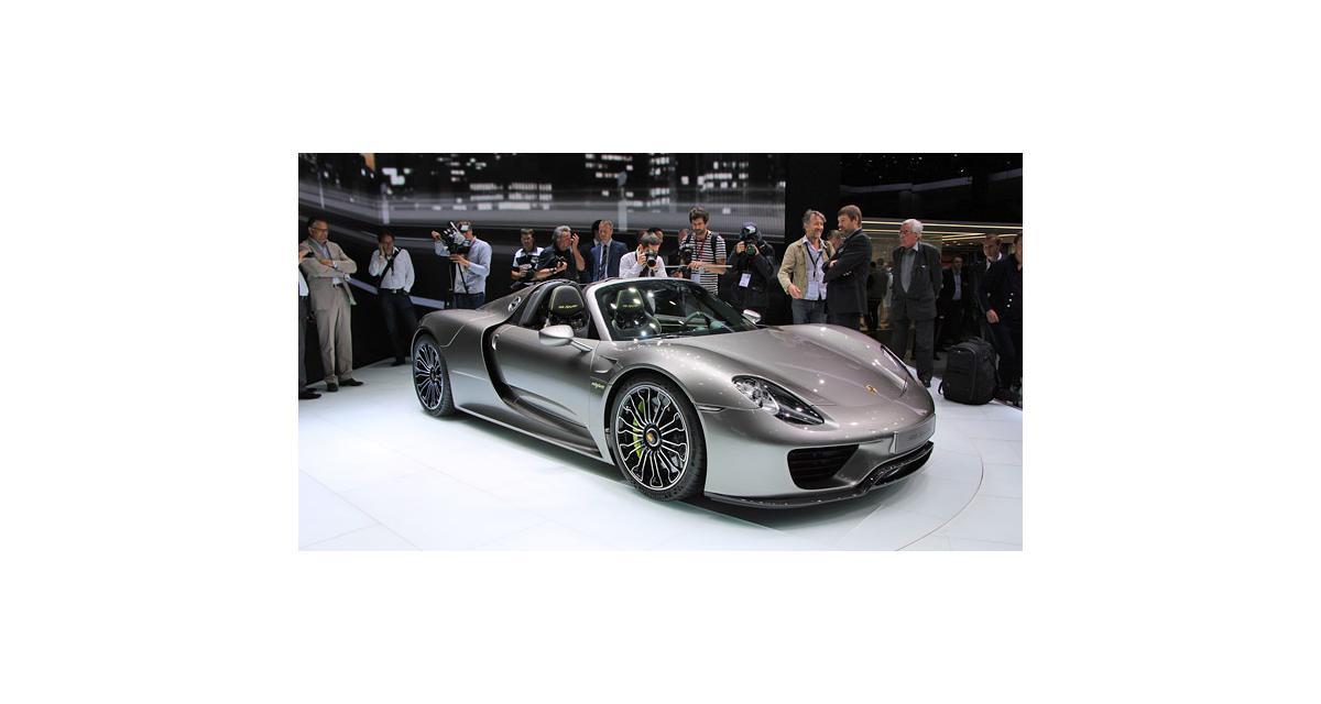 Porsche 918 Spyder : à partir de 775 404 €