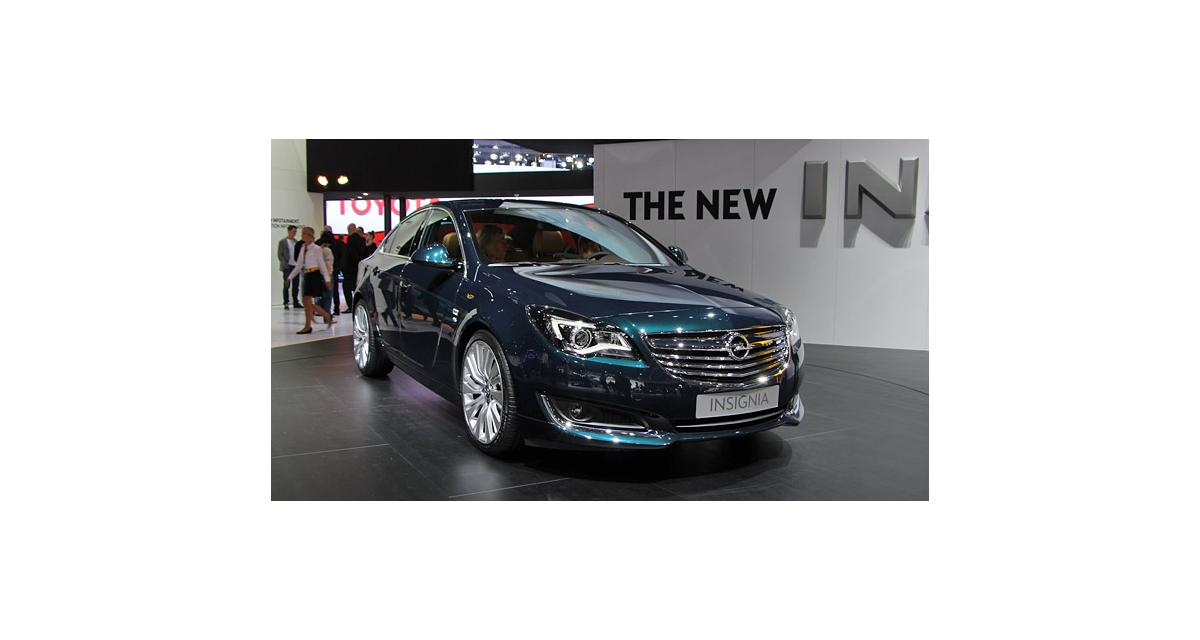 Salon de Francfort en direct : Opel Insignia restylée