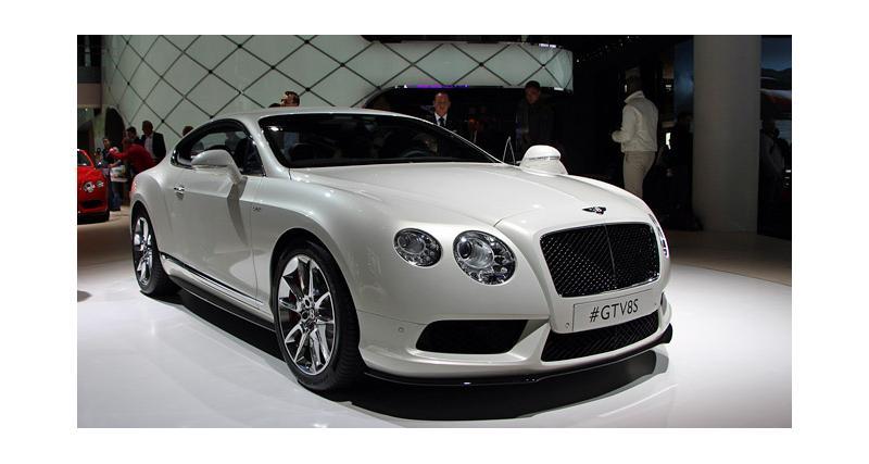 Francfort en direct : Bentley Continental GT V8 S