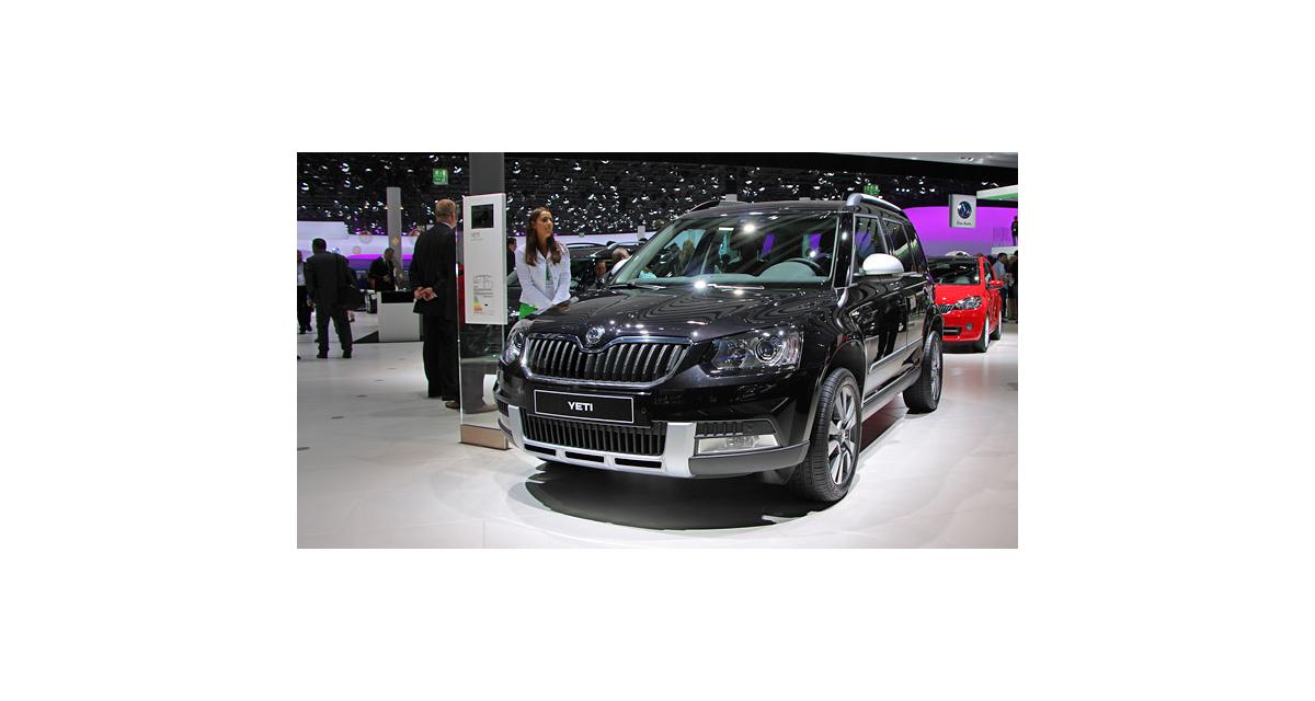 Salon de Francfort en direct : Skoda Yeti restylé