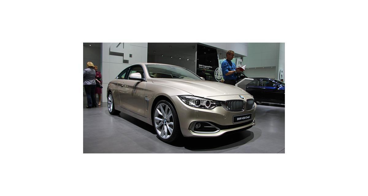 Francfort en direct : BMW Série 4