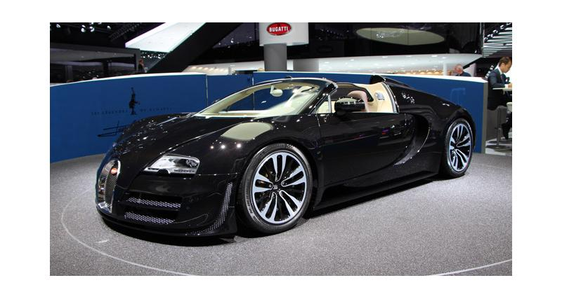 Francfort en direct : Bugatti Veyron Vitesse Jean Bugatti