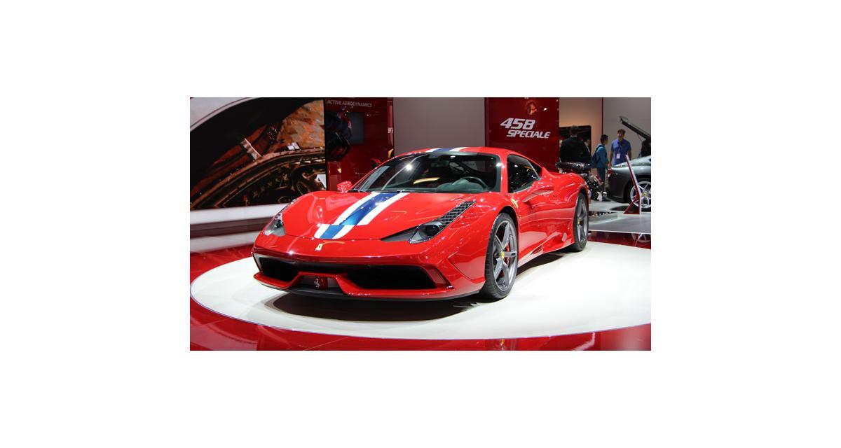 En direct de Francfort : Ferrari 458 Speciale