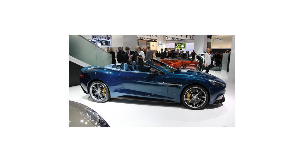 En direct de Francfort : Aston Martin Vanquish Volante