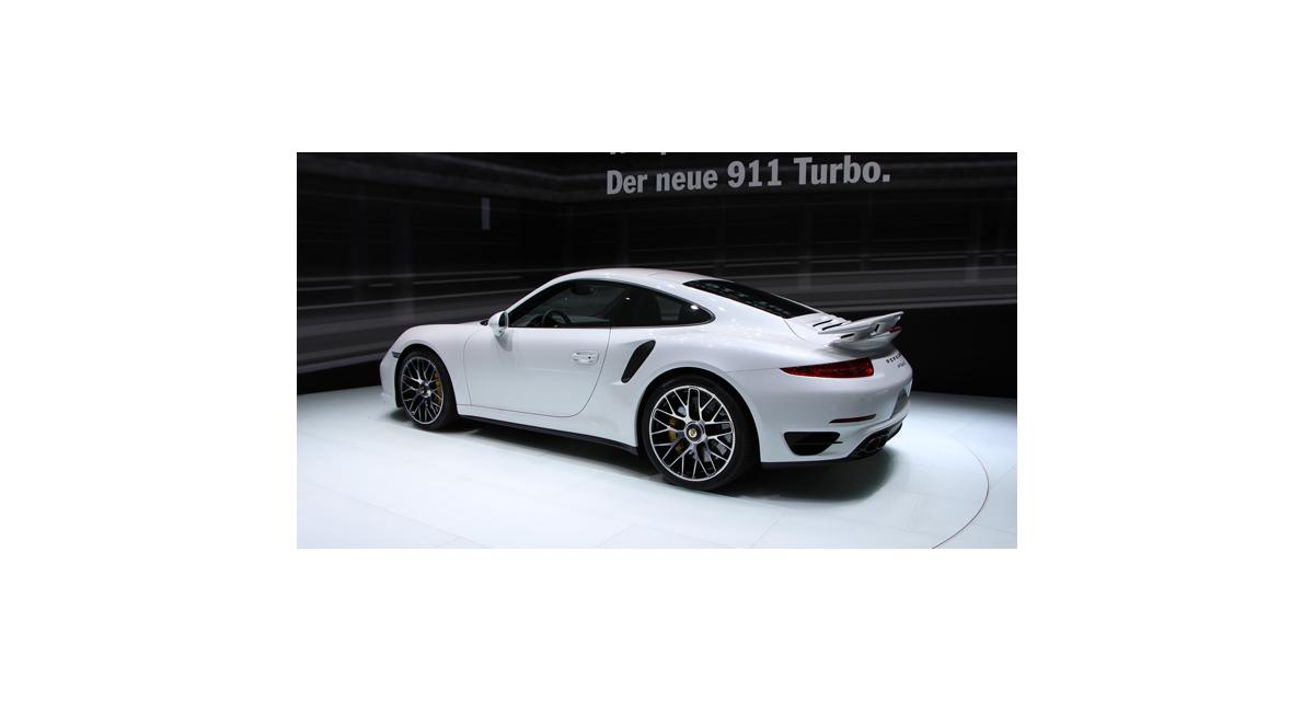 Francfort en direct : Porsche 911 Turbo