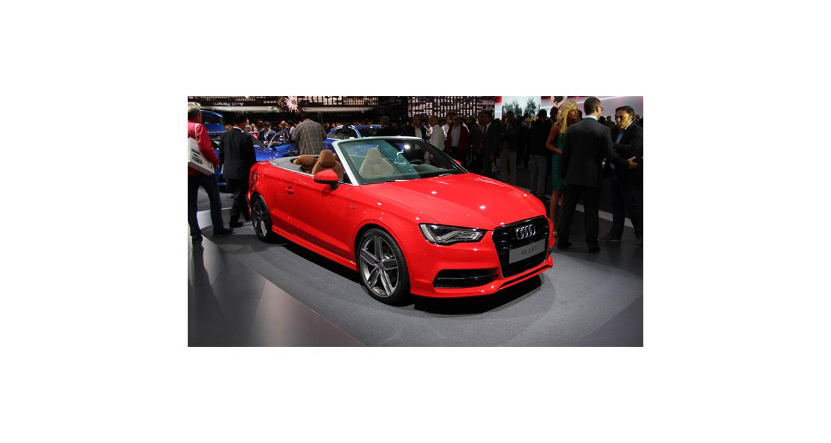 En direct de Francfort : Audi A3 cabriolet