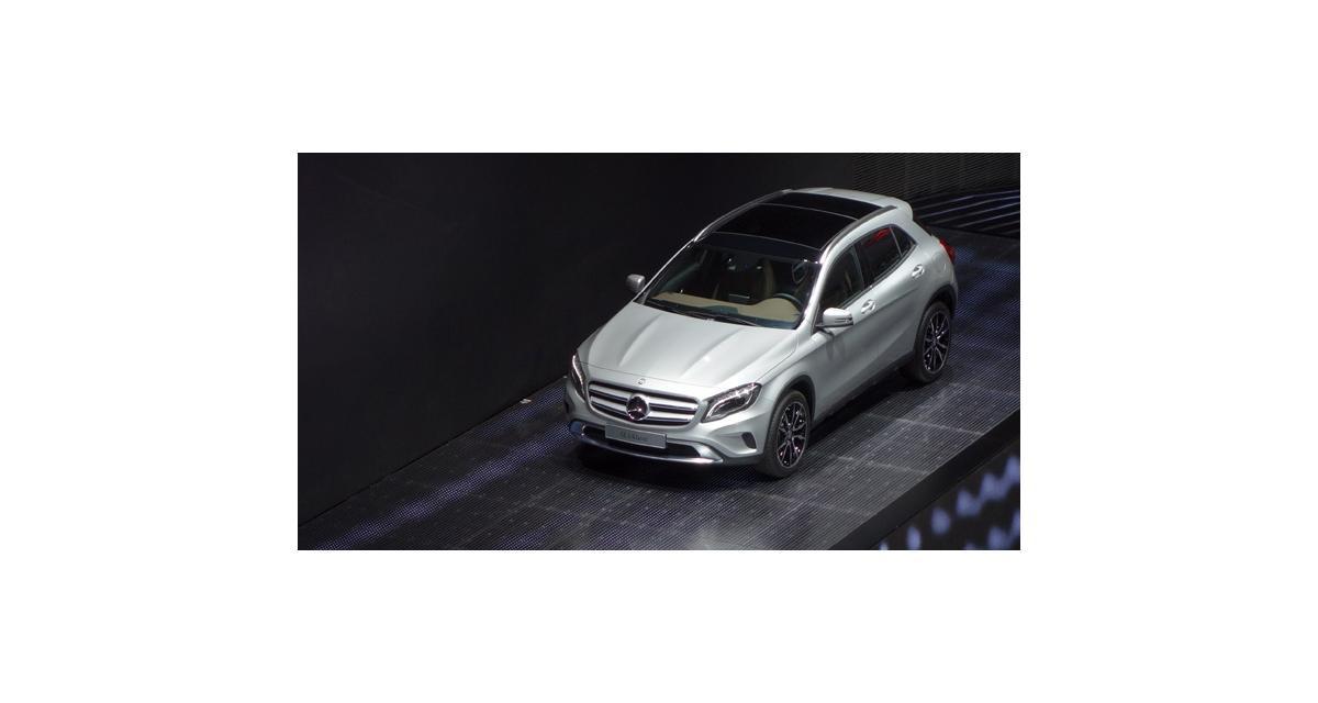 En direct de Francfort : Mercedes GLA