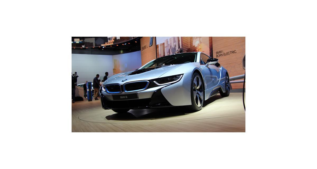 Francfort en direct : BMW i8