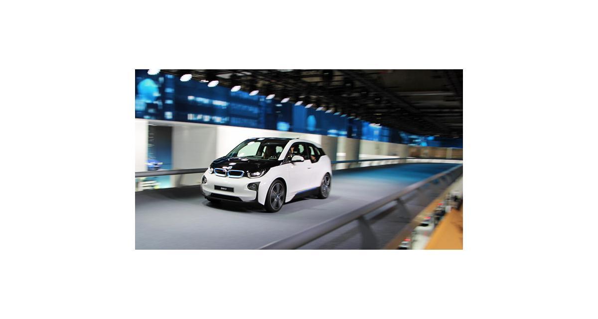 En direct de Francfort : BMW i3