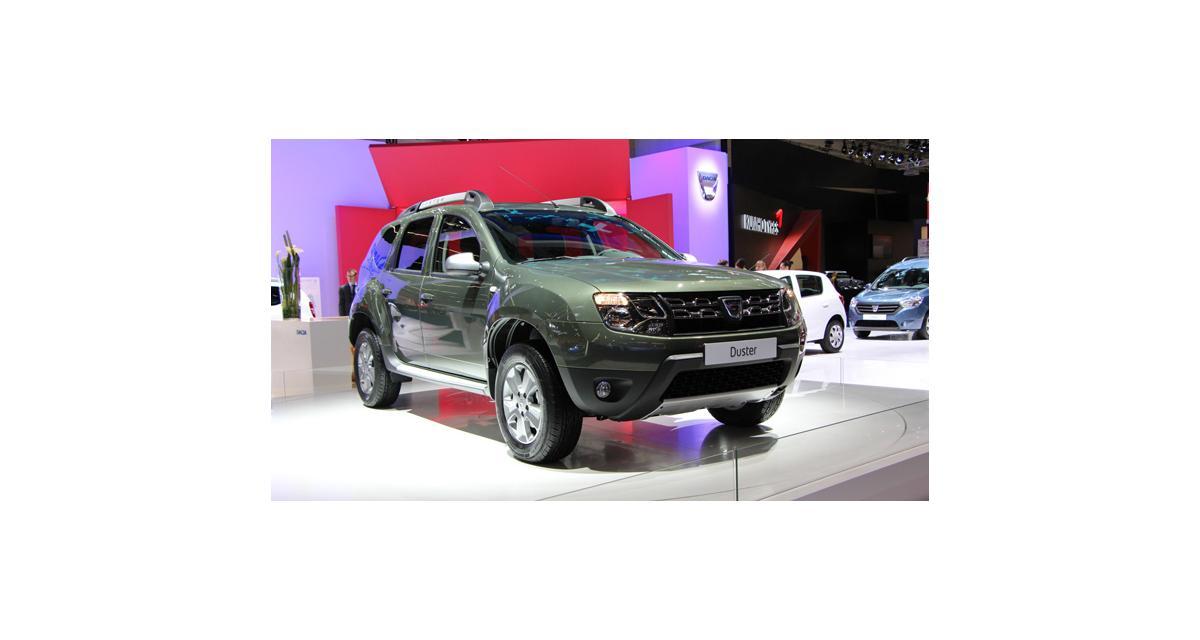 En direct de Francfort : Dacia Duster restylé