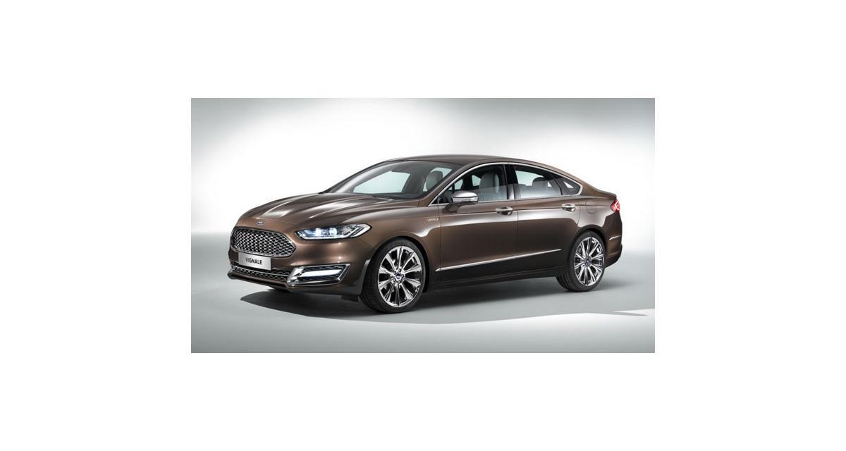 Ford Mondeo Vignale Concept : à l'assaut du premium