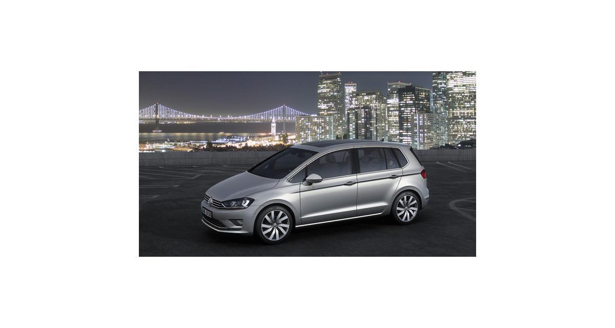 Volkswagen Golf Sportsvan (Francfort 2013)